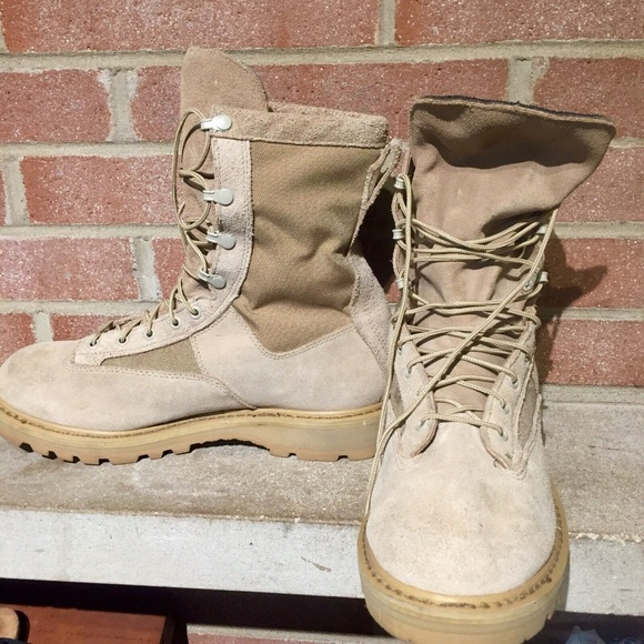 Rocky Outdoor Gear Other - Rocky Men's Military Combat Boot Tan SZ 10